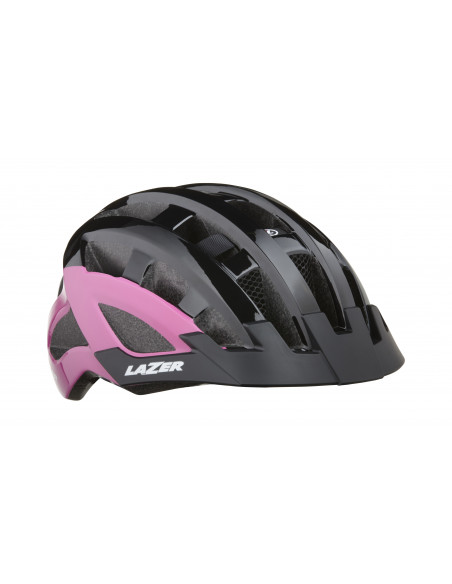 LAZER PETIT DLX MIPS black/pink 50-57 cm