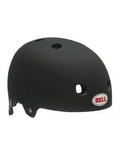 Hjälm Bell Segment Junior, Mattsvart XS 48-53cm
